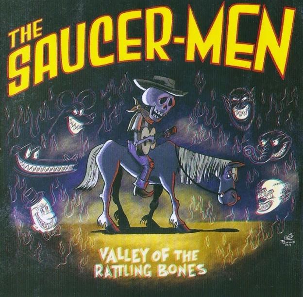 The Saucer-men Valley Of The Rattling Bones